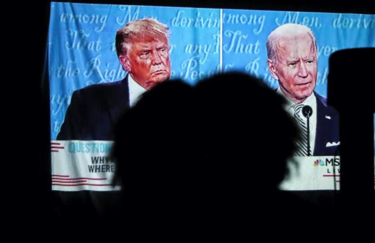 Final debate a chance for Trump to reset race