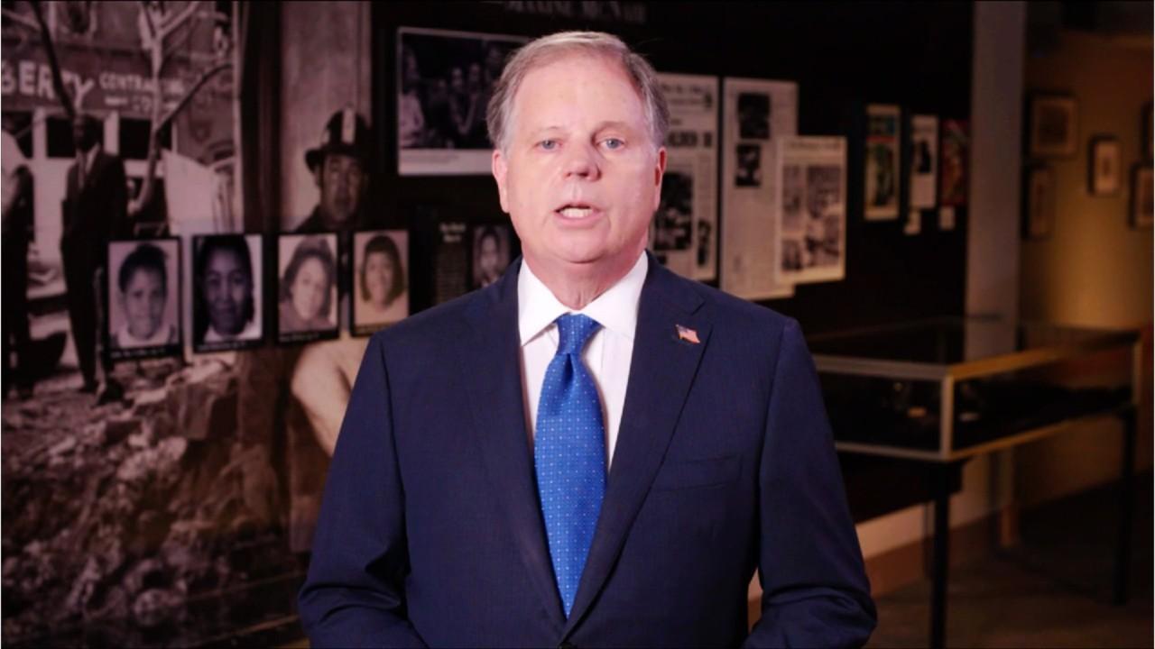 Democratic Sen. Doug Jones Set To Take On Tuberville In Bruising Alabama Senate Fight