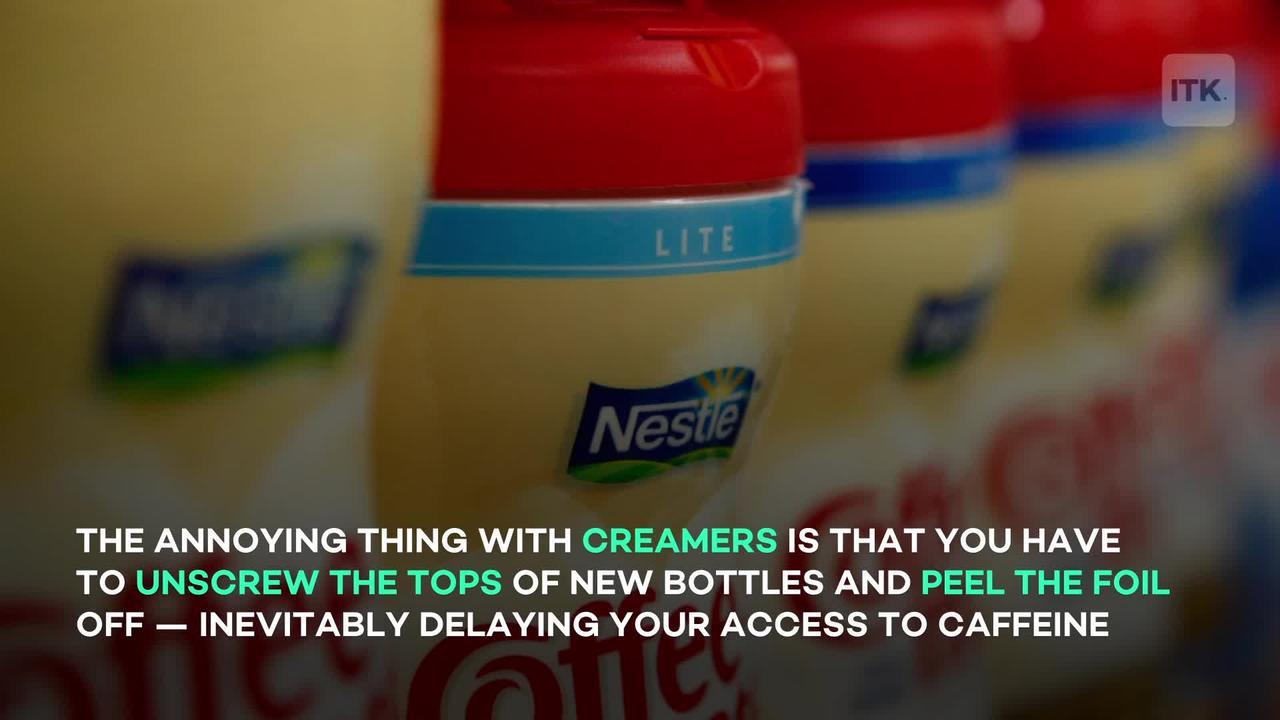 TikToker's coffee creamer hack will make - One News Page VIDEO