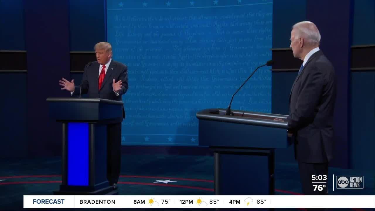 5 takeaways from the final presidential debate