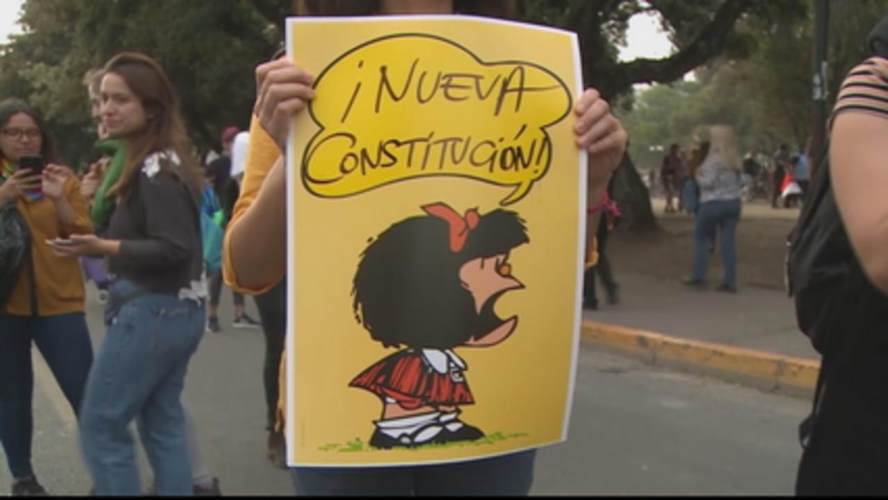 Chile referendum fears: Protests against redrafting constitution