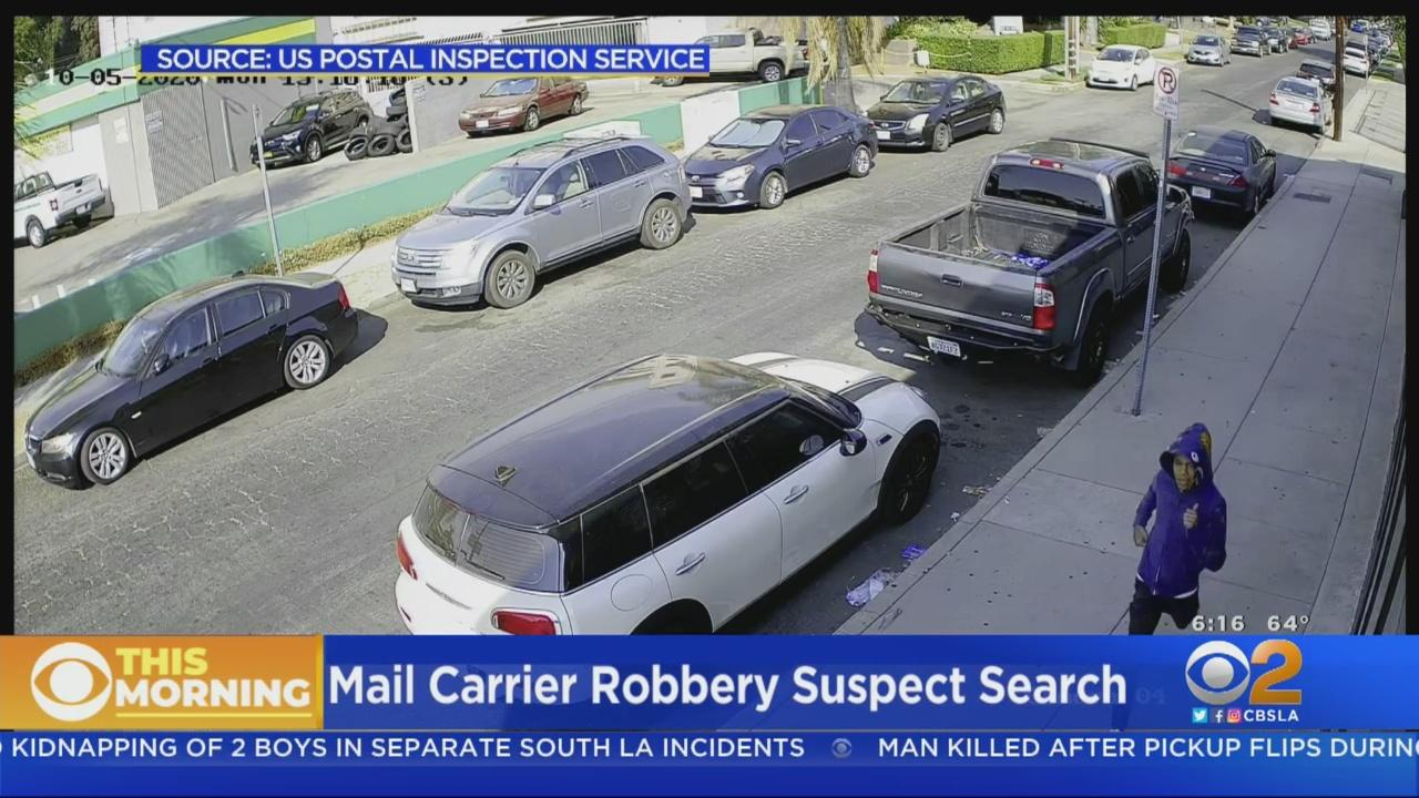 Man Wanted In Robbery Of Letter Carrier Working In North Hollywood
