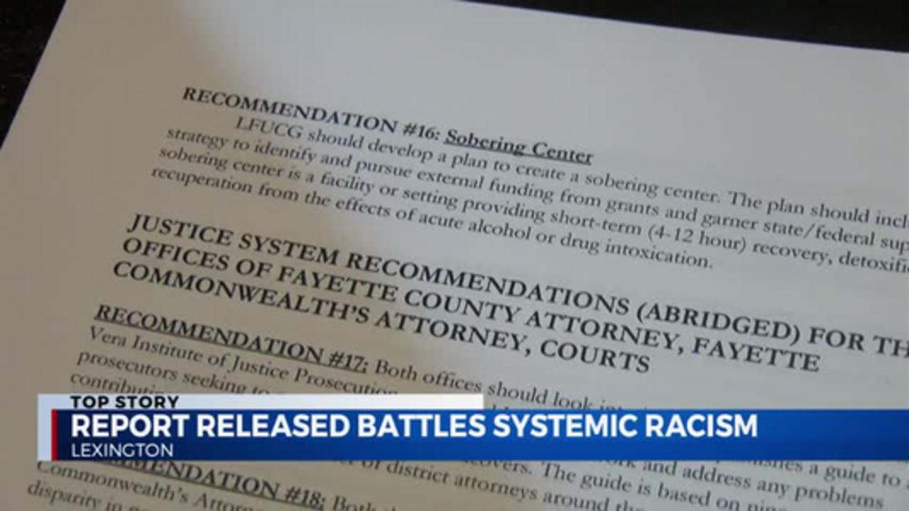 PKG: racism report with talk back