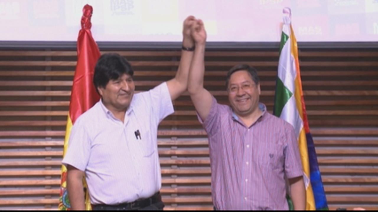 Luis Arce promises to 'rebuild' Bolivia after huge election win