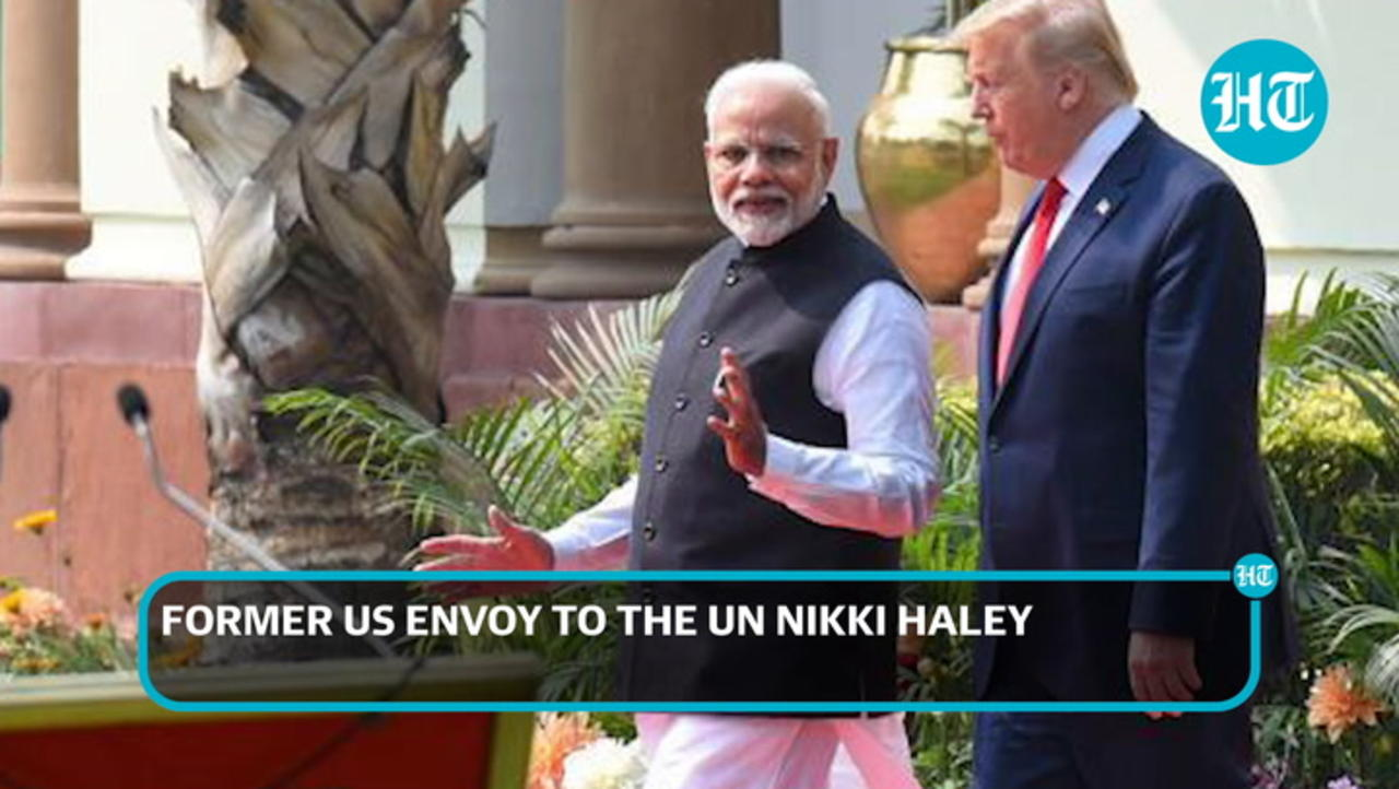 'PM Modi and President Trump get along very well': Nikki Haley