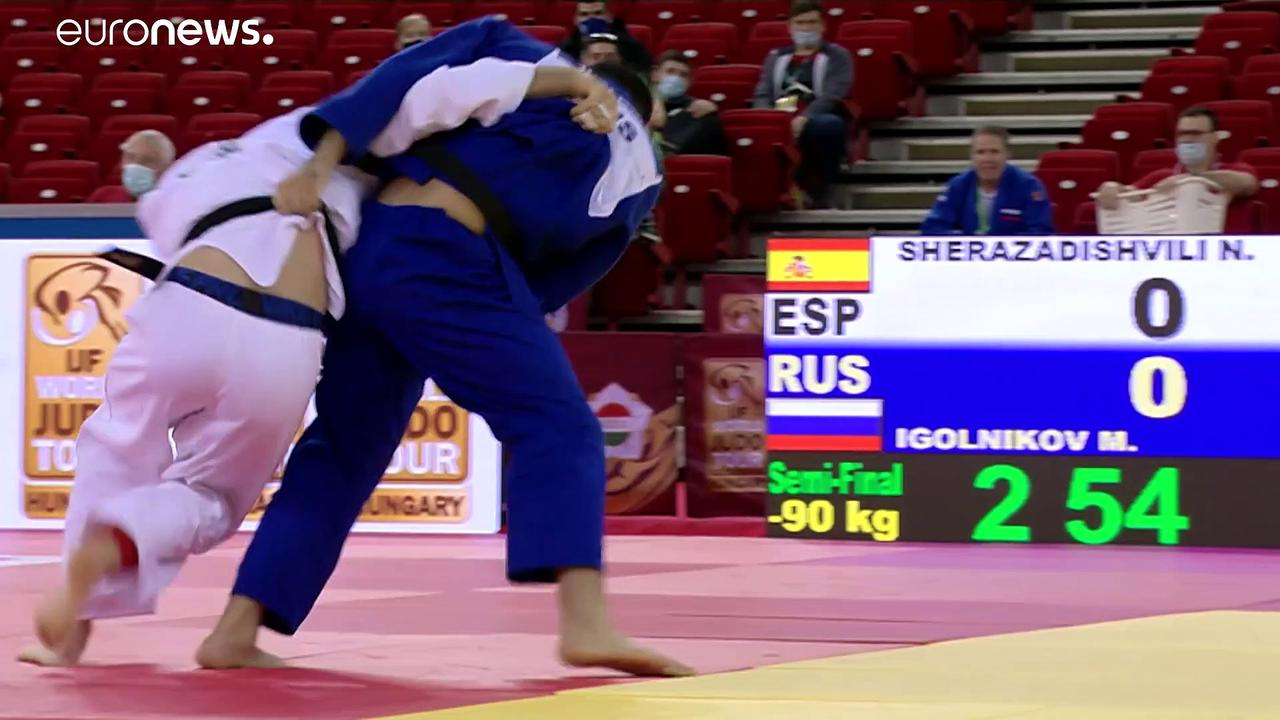 Blaze of glory for Russia on the final round of the 2020 Budapest Grand Slam