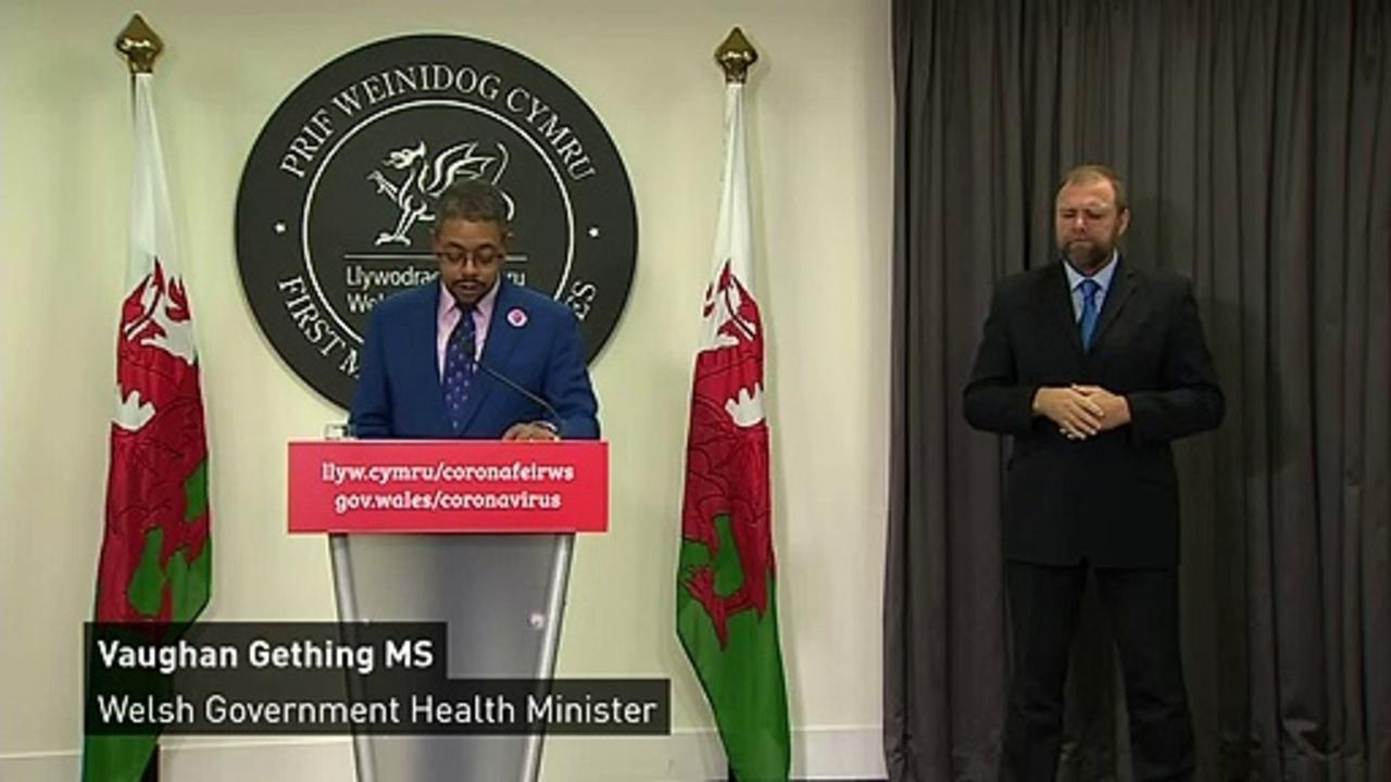 Welsh minister forced to clarify 'non-essential' products