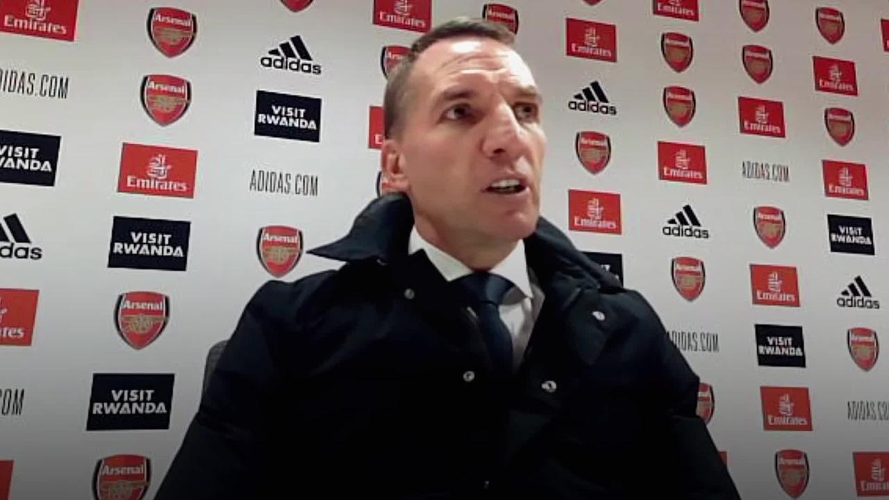 Arsenal 0-1 Leicester: Press conference with Brendan Rodgers