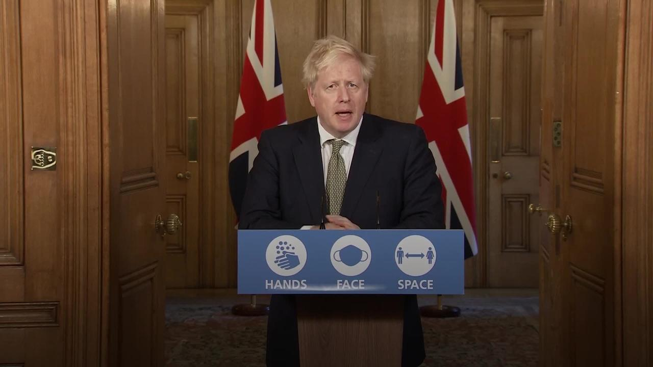 Johnson looks to defuse Tory rebellion over free school meals
