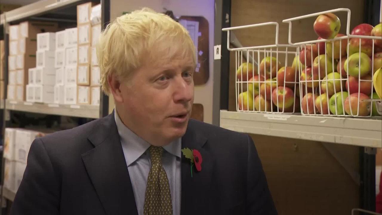 Boris Johnson refuses to move on school meal vouchers