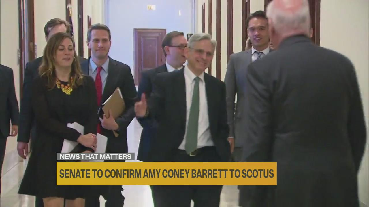 Interview: The twists and turns of Amy Coney Barrett's confirmation process