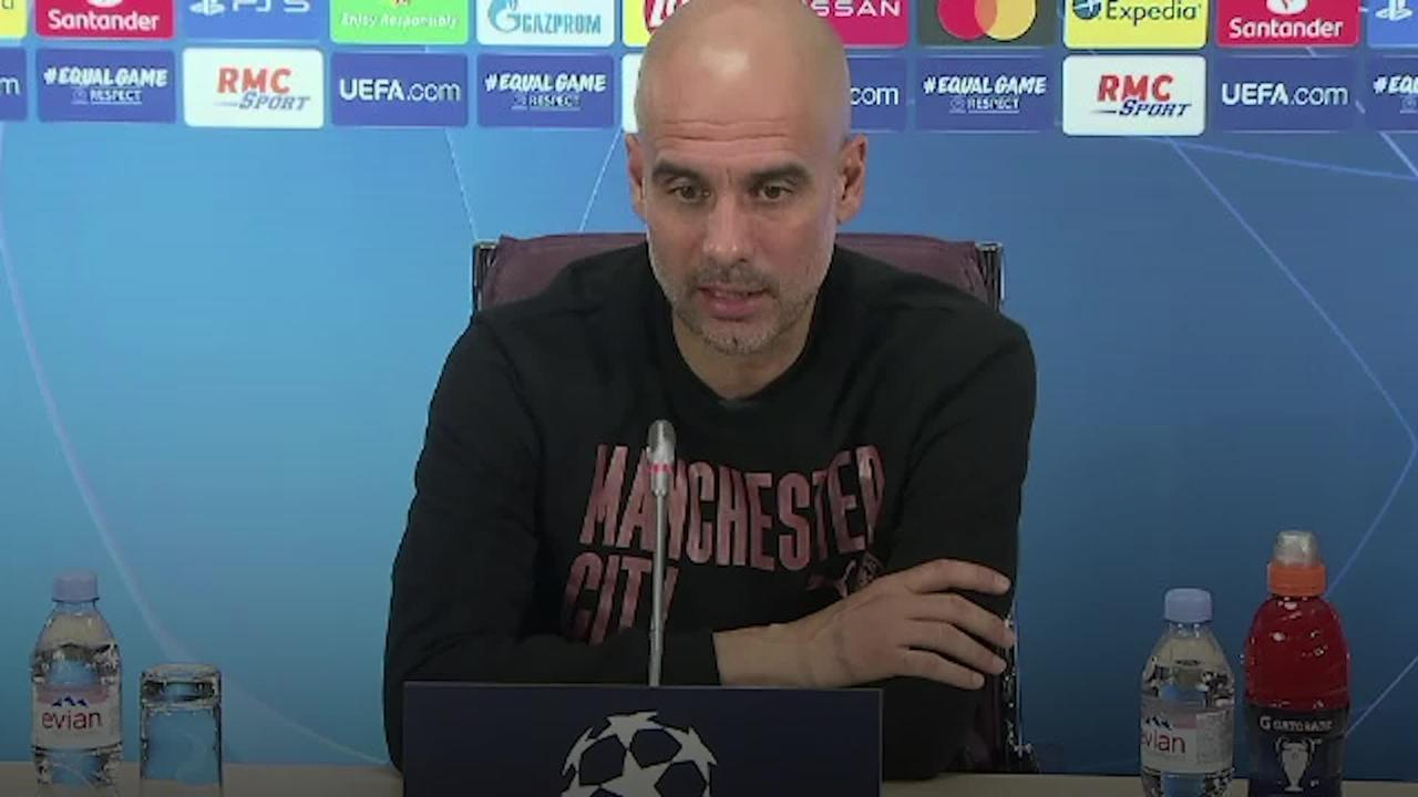 Guardiola: We will try to win the Champions League