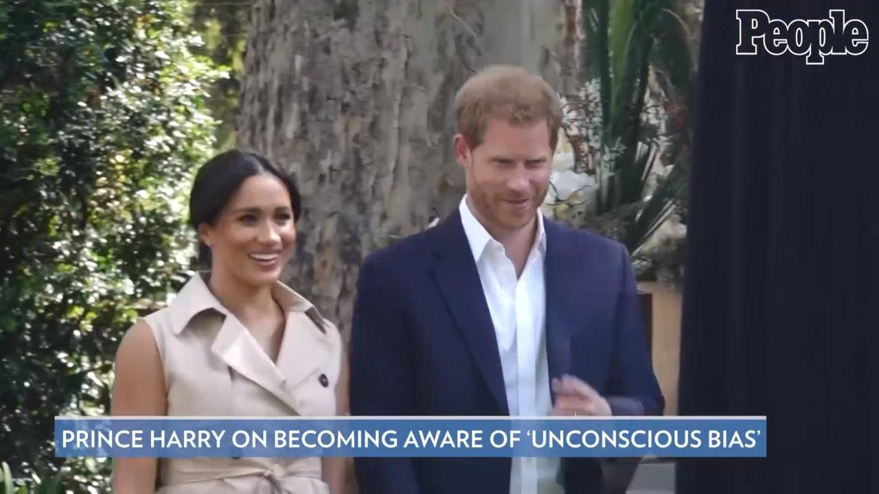 Prince Harry Says He 'Didn't Know Unconscious Bias Existed' Until 'Living a Day' in Meghan Markle's Shoes
