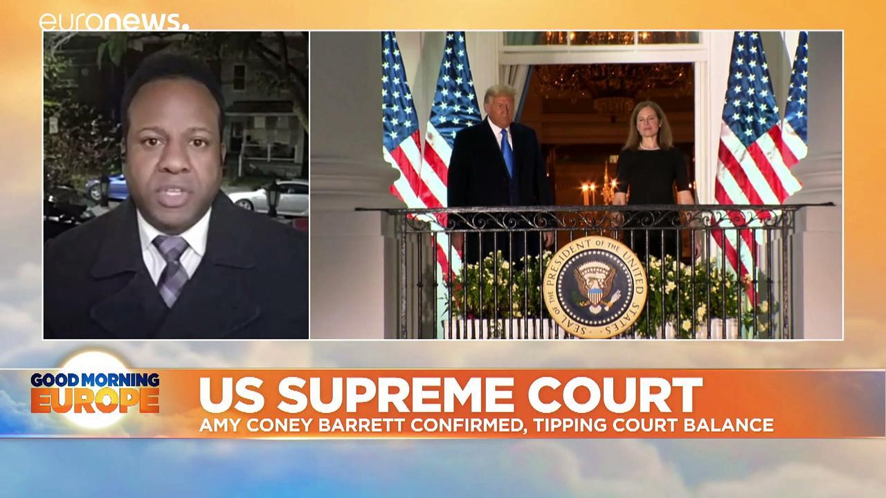 US elections: Senate confirms Trump Supreme Court nominee despite Democrats' opposition