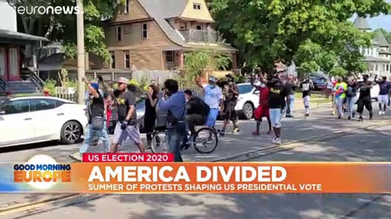 America divided: Summer of protests shaping voters' attitudes to US election