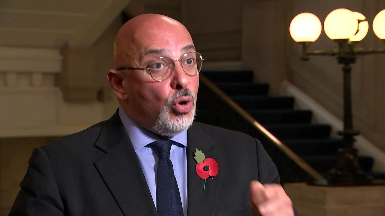 Towns to receive Covid £3.6bn funding boost, Zahawi says