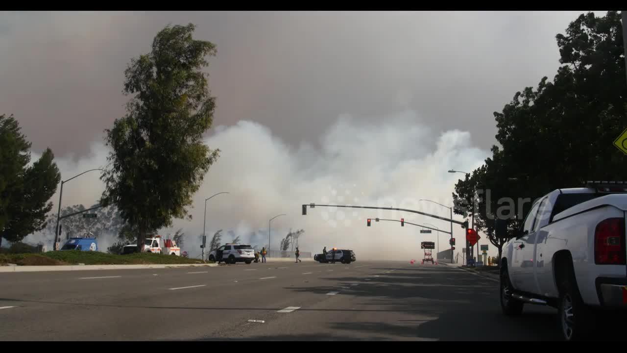 Irvine residents evacuate as Silverado Fire continues to grow