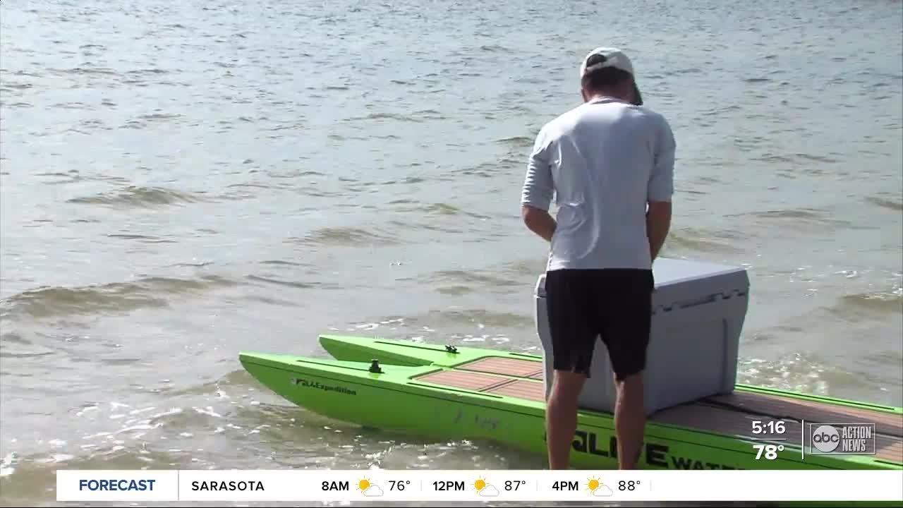 St. Pete native to paddleboard more than 400 miles from Tampa Bay area to Bahamas