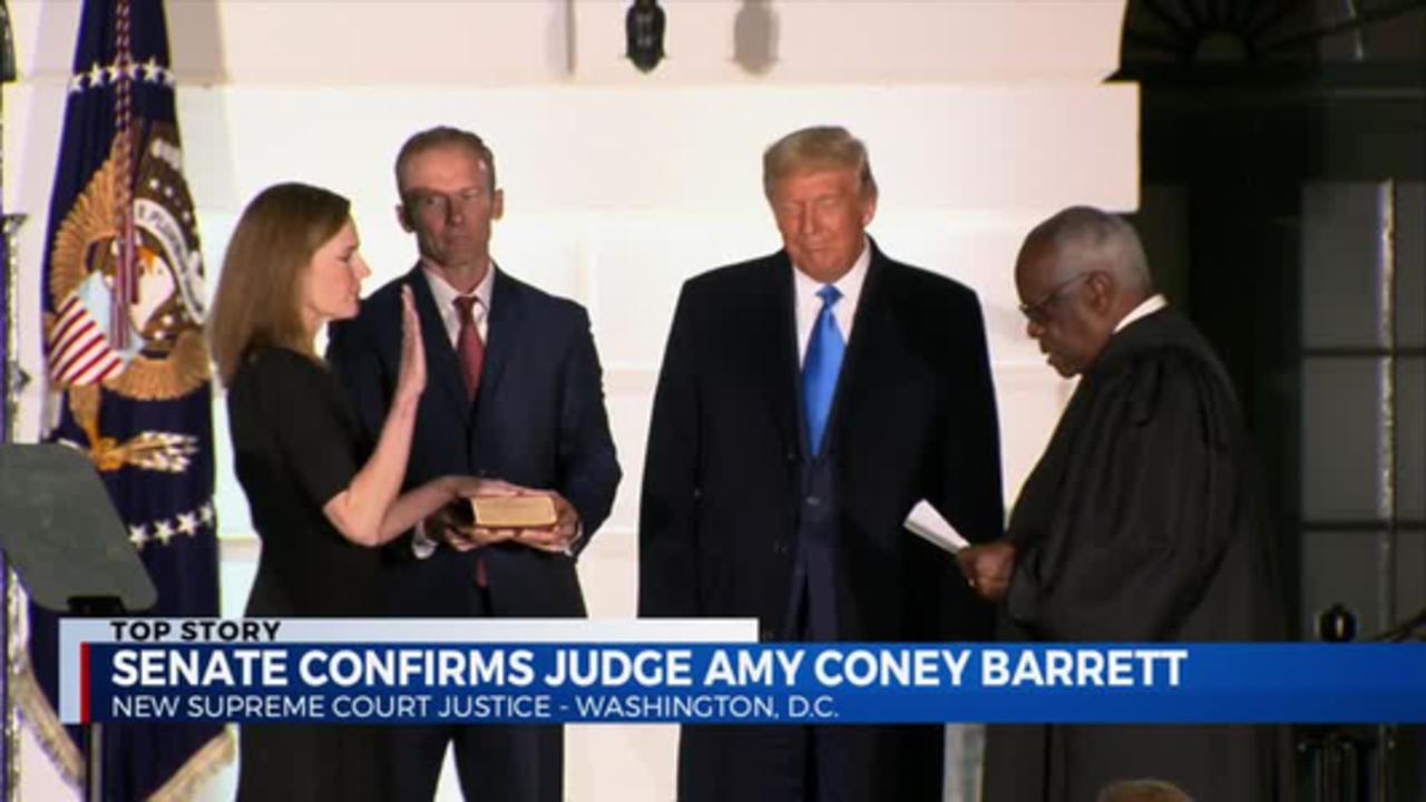 Amy Coney Barrett confirmed 10.26.20