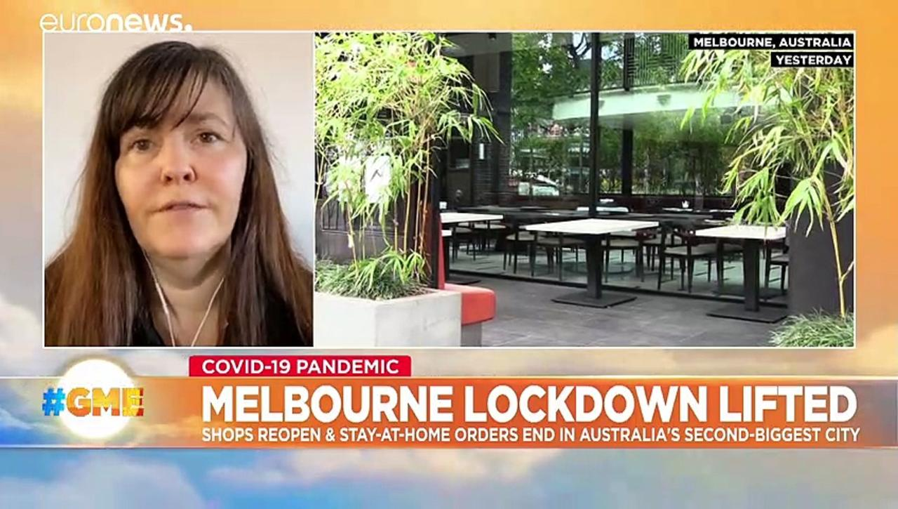 Melbourne celebrates the end of a gruelling four-month lockdown