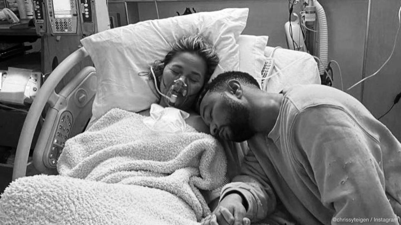 Chrissy Teigen knew she had to document baby loss to help others