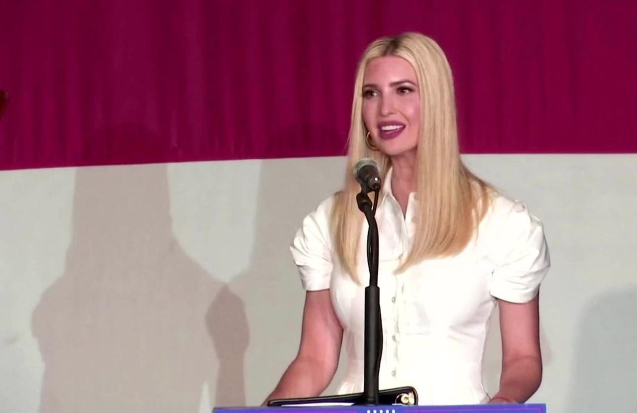 Ivanka Trump says no to socialism at Miami rally