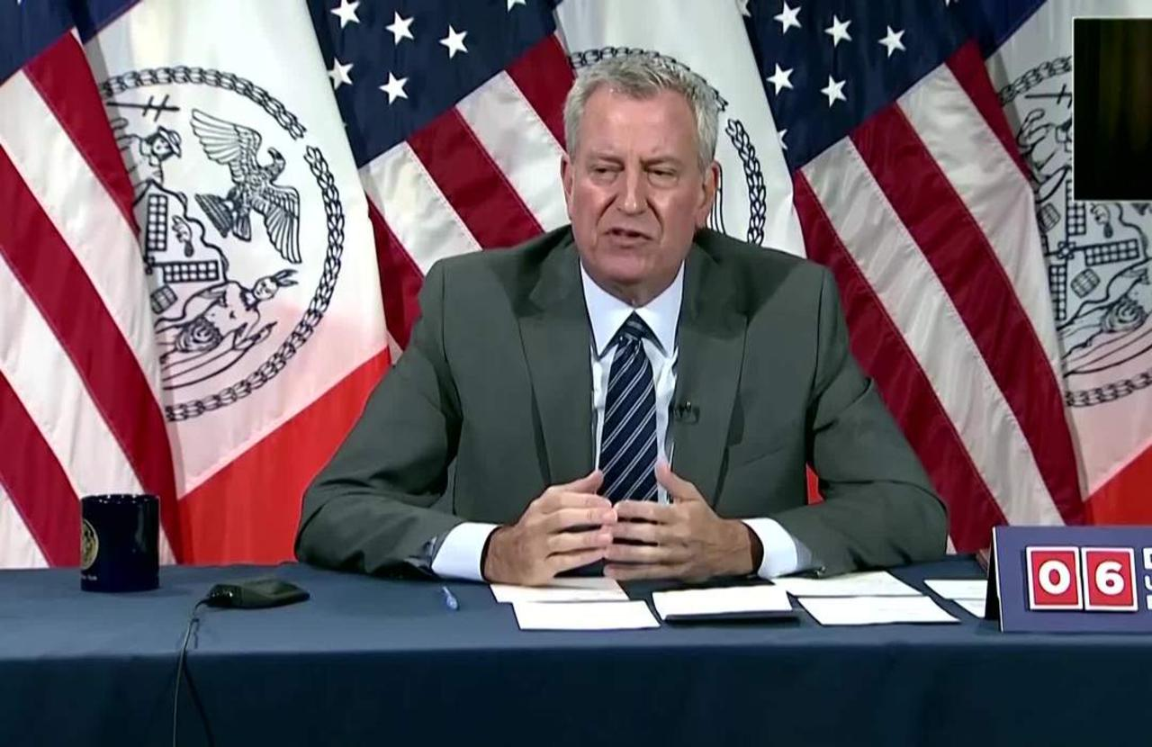 NYC Mayor says protest 'offenses must be prosecuted'