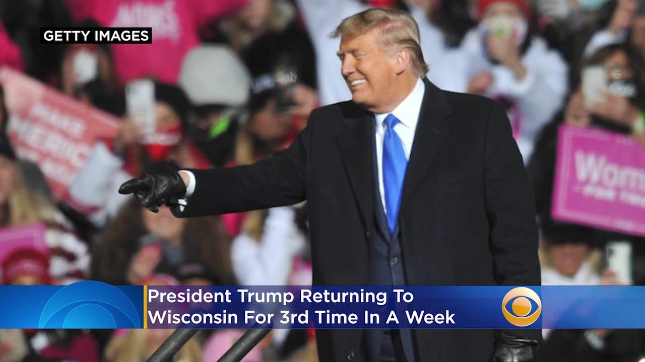 President Trump Returning To Wisconsin For 3rd Time In A Week