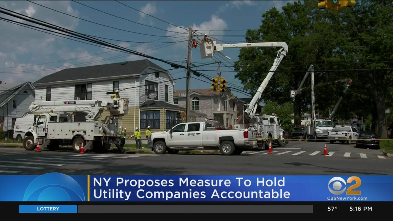 Gov. Andrew Cuomo Unveils Legislation To Hold Utility Companies Accountable To Provide Reliable Service