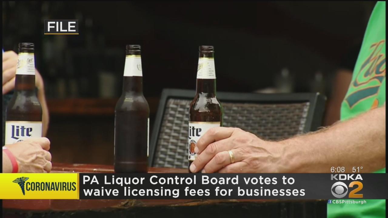 Pennsylvania Liquor Control Board Waives Some 2021 Licensing Fees