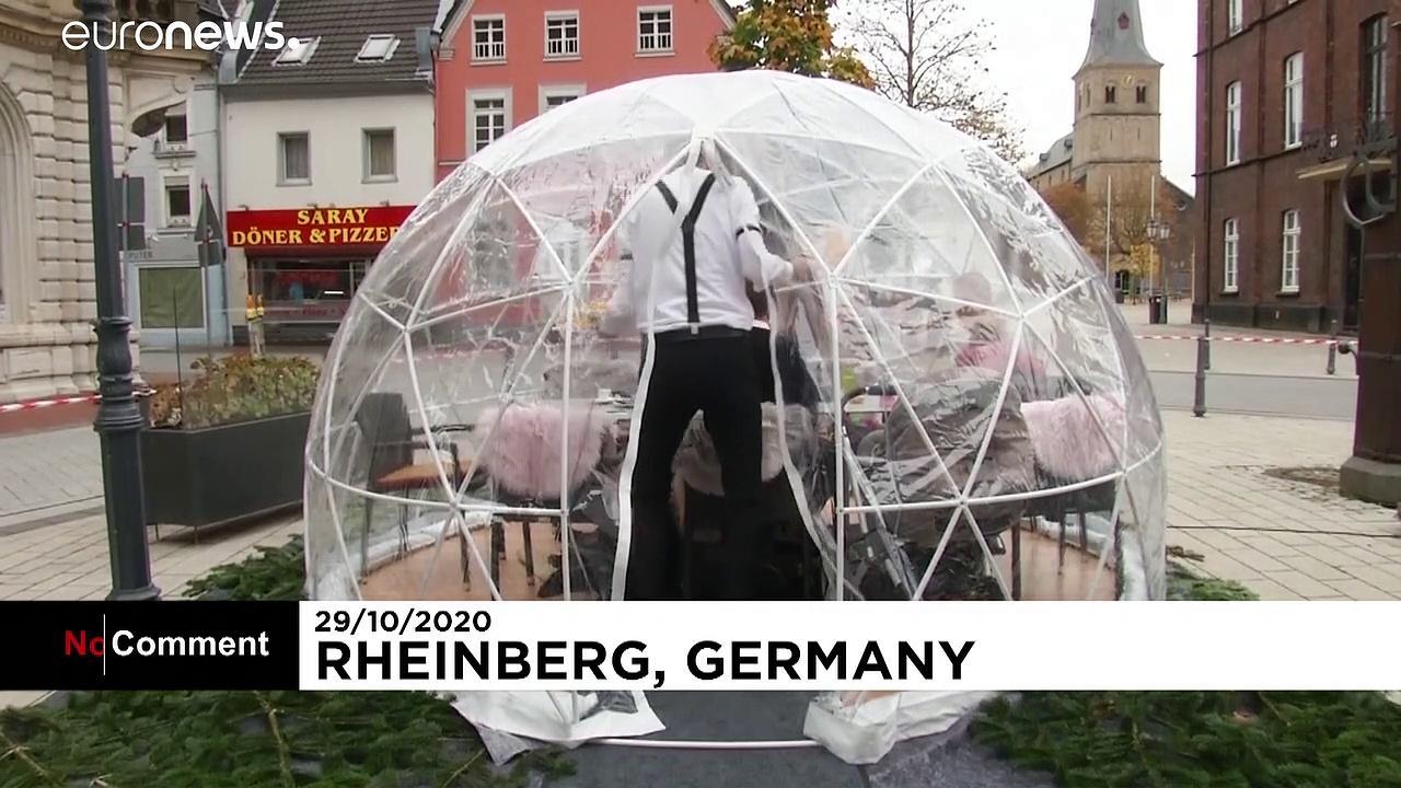 German eatery's bid to host winter guests hit by paritial lockdown