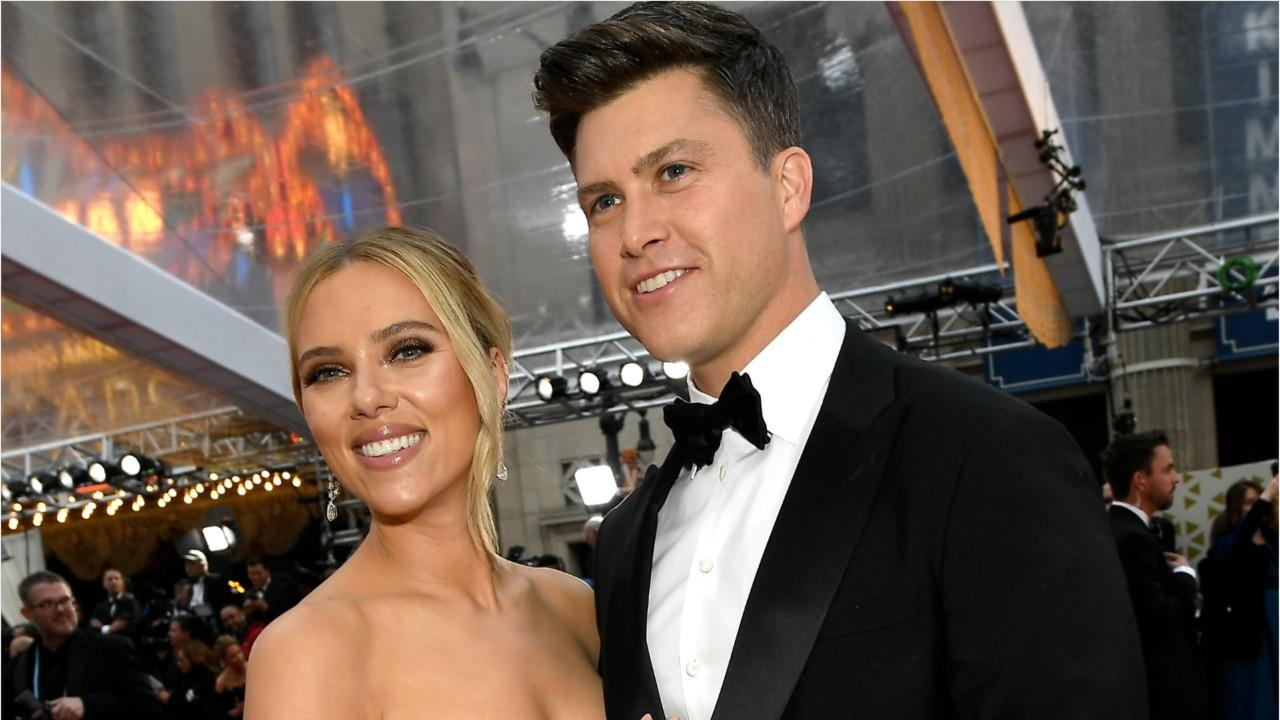 Scarlett Johansson And Colin Jost Tied The Knot