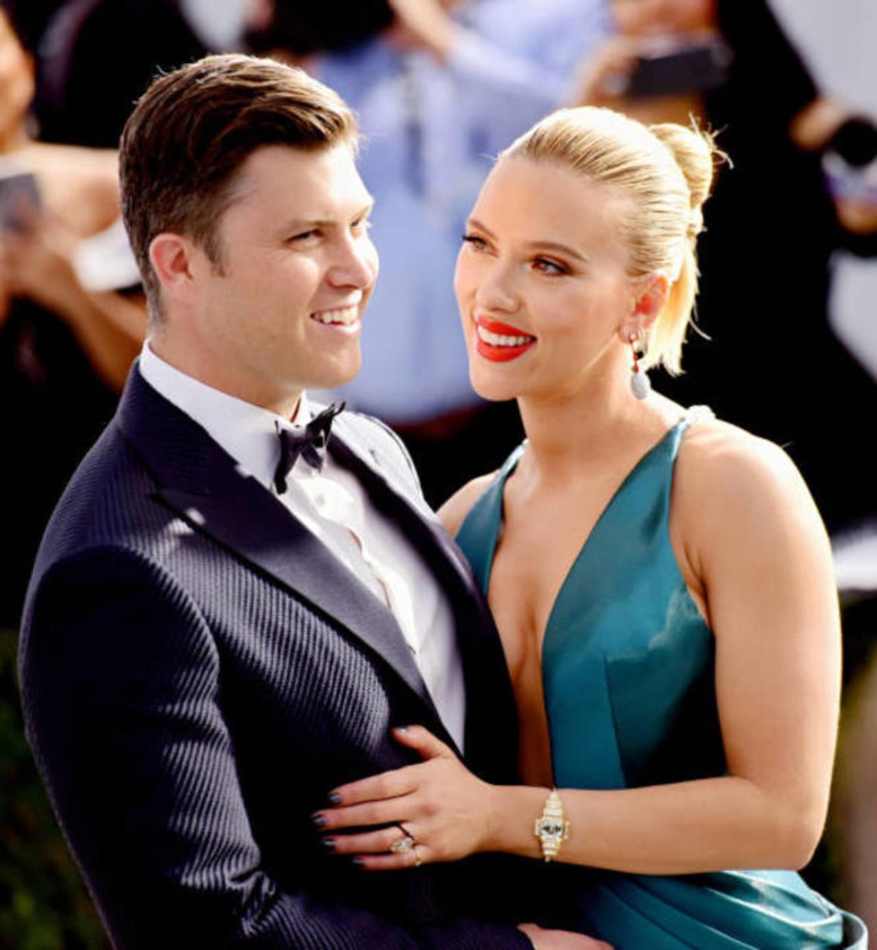 Scarlett Johansson and Colin Jost Got Secretly Married