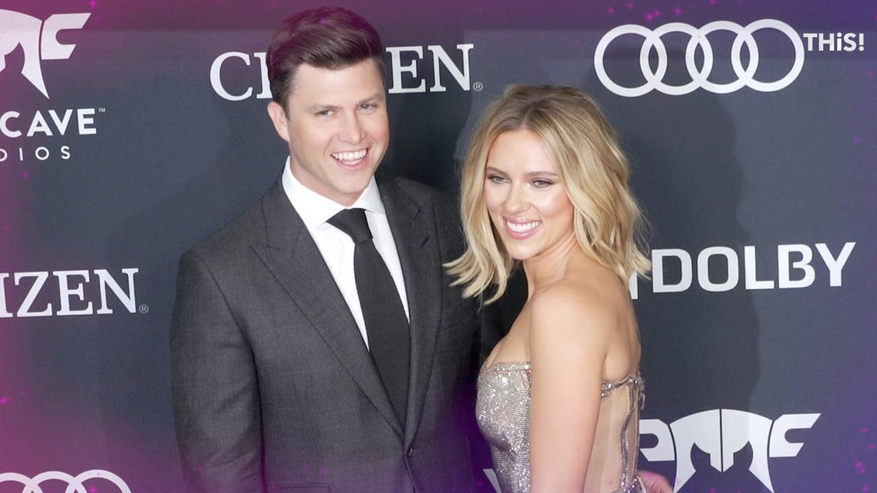 Scarlett Johansson and Colin Jost use Meals on Wheels' Instagram to break wedding news