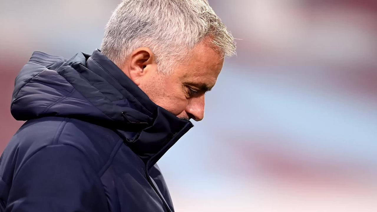 Jose Mourinho frustrated with players as Spurs lose out to Royal Antwerp