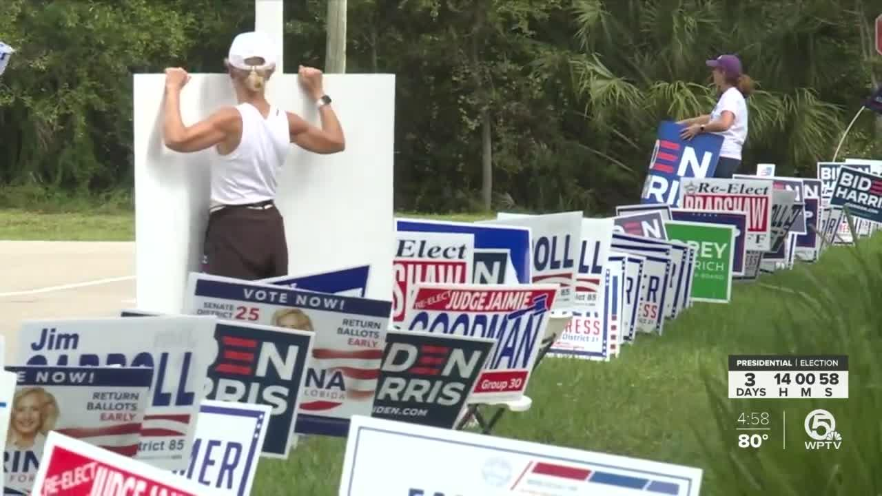 Early voting enters final weekend before Election Day