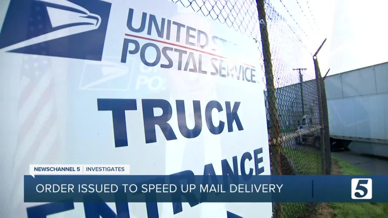 Judge demands U.S. Postal Service stop reforms that delay mail before Election Day