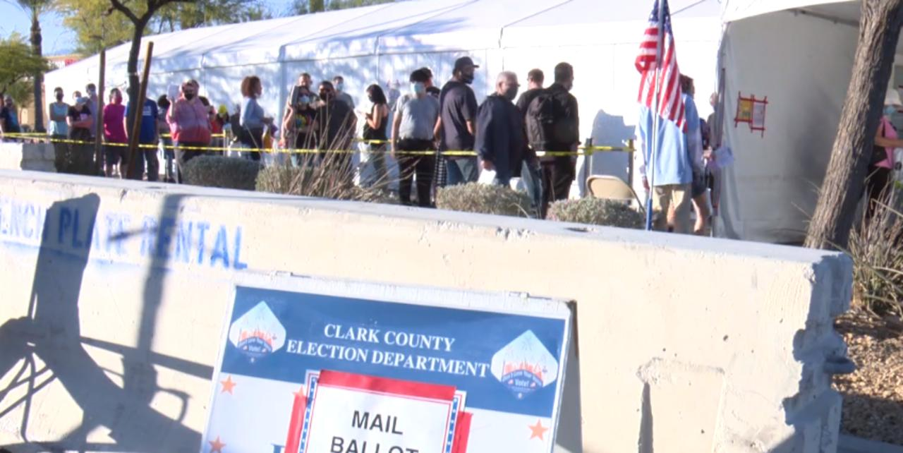 Nevada reports 1M+ ballots cast before 2020 Election Day