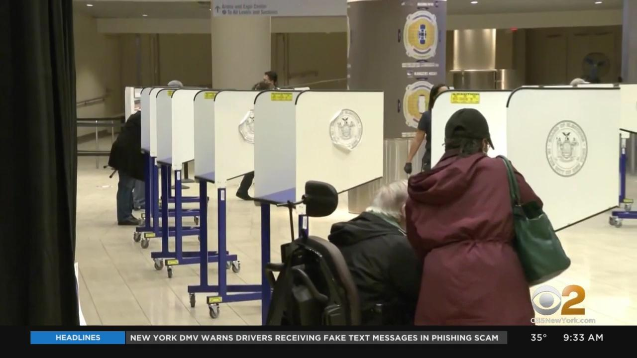 Extended Polling Hours, New Site Opens In Manhattan To Ease Long Early Voting Lines In New York City