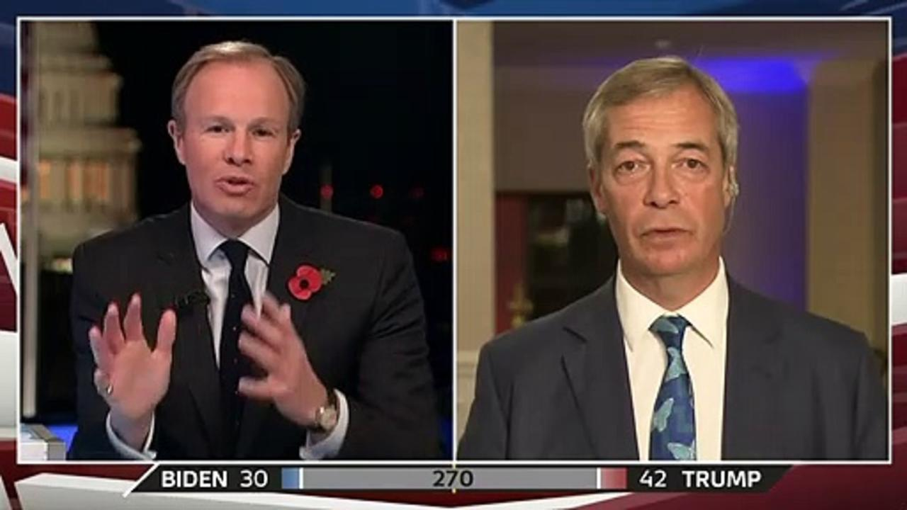 Nigel Farage predicts 'radical' Trump second term