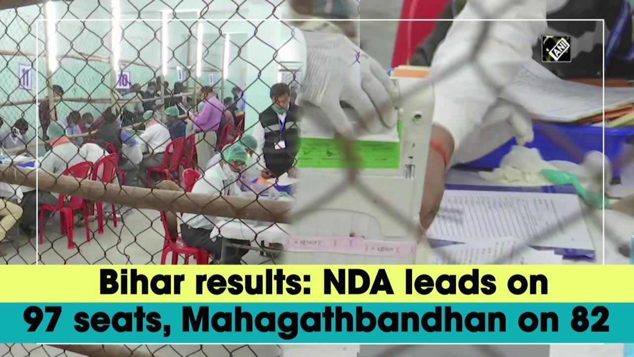 Bihar results: NDA leads on 97 seats, Mahagathbandhan on 82