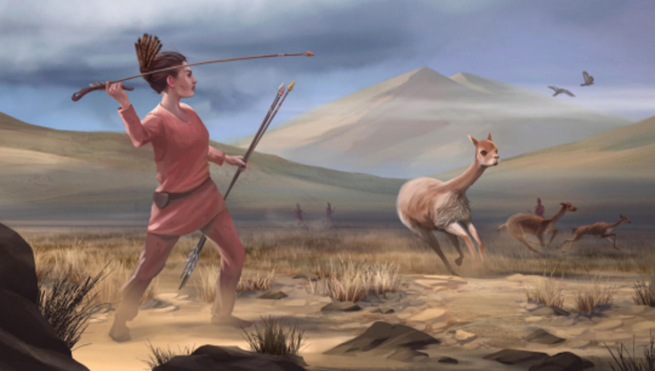 Early Big-Game Hunters of the Americas Were Women