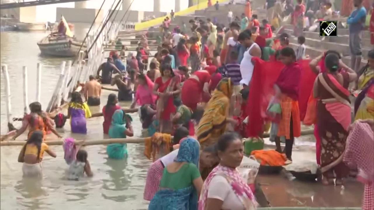 Chhath Puja: Devotees Get Ganga Water Delivered to Doorstep for Performing Rituals in Patna