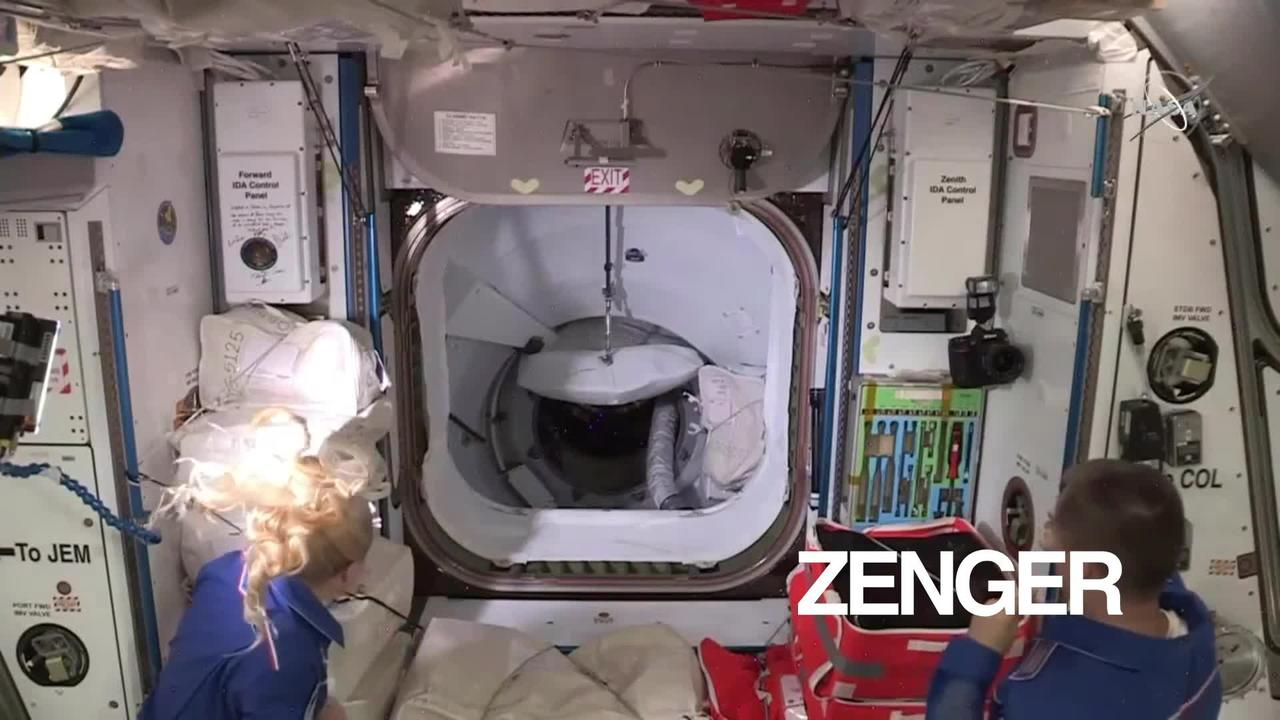 Astronauts Arrive at International Space Station After Historic Launch (Clipzilla)