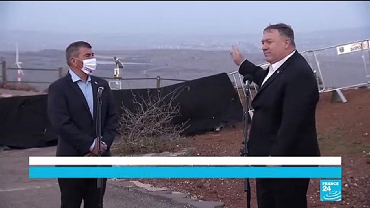 'This is a part of Israel': Pompeo makes first visit by US top diplomat to Golan Heights