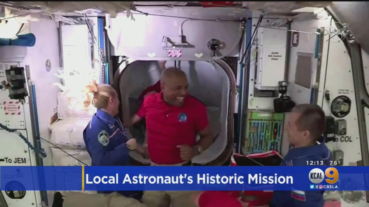 SoCal Native Victor Glover Working On Staying Upright On International Space Station