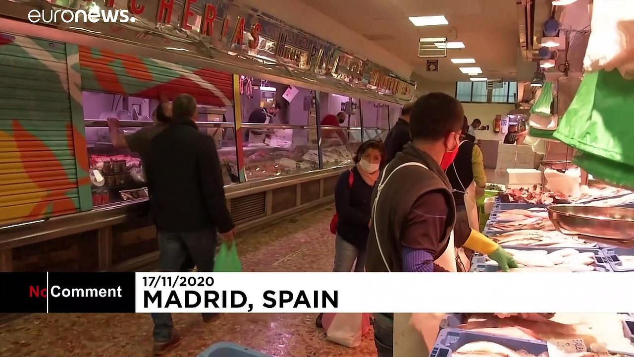 Madrid market's makeover after street festival moves due to COVID-19