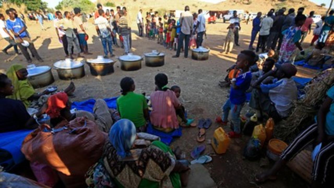 Conflict in Ethiopia's Tigray region pushes refugees to Sudan