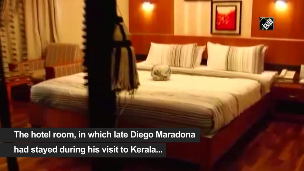 Kerala hotel turns room where Maradona stayed into a museum