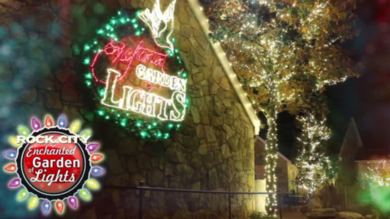 Rock City S Enchanted Garden Of Lights One News Page Us Video